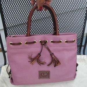 Dooney & Bourke Purple Wakefield Handbag